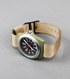 US military Vietnam-era MKVI watch; simple is good.
