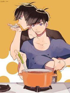 Pfft Oso, please. He's trying to cook!