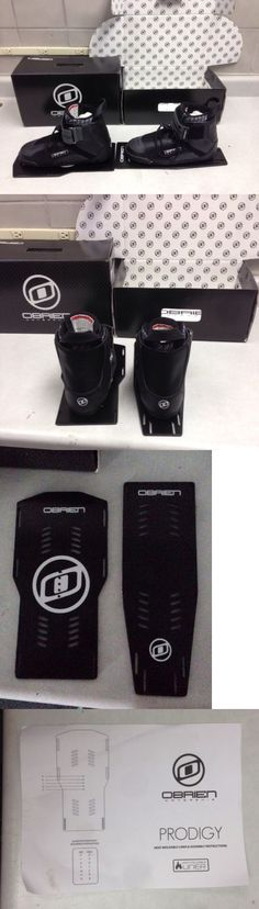 Waterskis 71175: O Brien Prodigy Boot Left And Right Size 8 Water Ski Bindings (Sizing Runs Small -> BUY IT NOW ONLY: $65 on eBay!