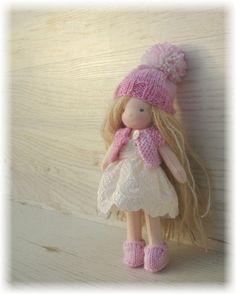 January 2017  Custom Waldorf Doll 6 inches by chestnutdolls