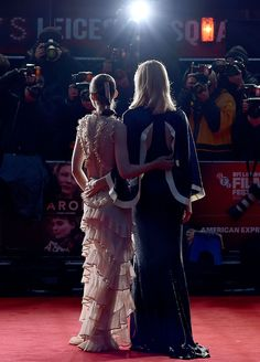 Rooney Mara and Cate Blanchett - 'Carol' London Film Festival Screening