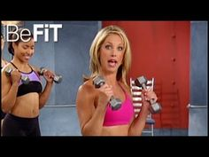 Denise Austin: Arms & Shoulders Workout- Level 3 - YouTube