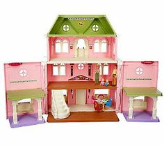 For Sydney: Don't like this doll house in particular, but would like to find one like it that folds in.