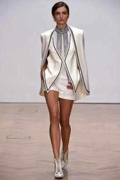 Sass & Bide Spring 2013 Ready-to-Wear Fashion Show - Andreea Diaconu