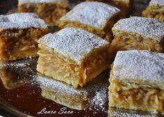Prajitura cu mere | Retete culinare cu Laura Sava