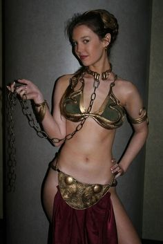 Slave Princess Leia - Cosplay and Costumes...