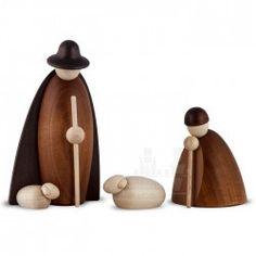 Bjorn Kohler Nativity Scene or Christmas Creche. Handmade in Germany – Gingerbread World
