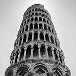 Leaning Tower of Pisa - Wikipedia, the free encyclopedia Tower Of Babel, Church Building, Church Architecture, Seven Wonders, Travel Bugs, France, Black And White Photography, Wonders Of The World, Rome