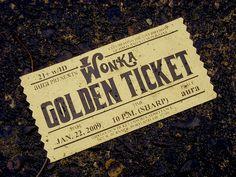 i've got a golden ticket.