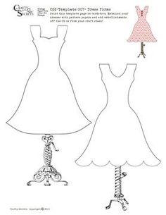Dress Template: