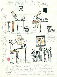 Un día en la vida de un ilustrador de libros infantiles