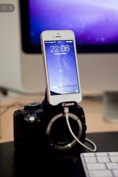 Dock para iPhone :)
