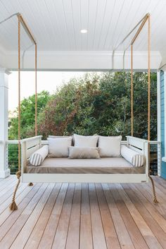 Vintage Porch Swings. I will be asking my hubby to do this for next house