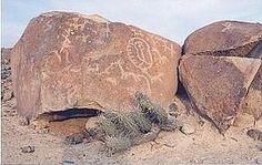 207 - TACNA - Los petroglifos de Miculla, son un conjunto de petroglifos ubicados en la pampa de San Francisco a poca distancia del pueblo de Miculla en el departamento de Tacna (Perú). Se ubican a ambos lados del río Palca, curcundante a su confluencia con el río Caplina.