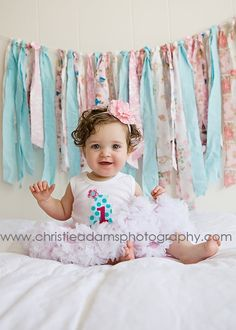 love this backdrop! so cute and easy to do