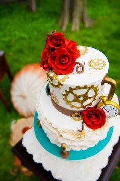 Philadelphia wedding photography and videography - BG Productions ~~Steampunk Wedding Inspiration