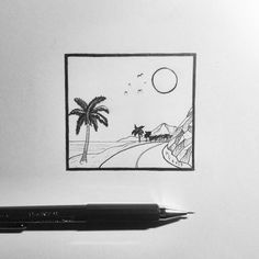 Birthdayparty @szenanet :) #palm #palmtree #beach #summer #draw #drawingtoday #drawing #dotwork #linework #sketch #sketchoftheday #rajz #creation #creative #tattoo #monochrome #pencilwork #pencil #artwork #art #artist #instagram #lineart #myart #mywork #fabercastell #dibujo #nature #illustrations