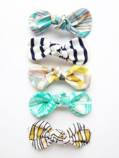 geometric and aztec knot bows-choose one