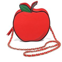 You'll want a full serving of this one, dames! An adorably vibrant red apple shaped purse boasting a zipper pull closure, inner zipper and cell phone pockets, …