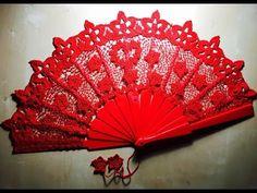 YouTube Crochet Flower Tutorial, Crochet Flowers, Crochet Lace, Crochet Edgings, Crochet Borders, Crochet Patterns, Yarn Crafts, Diy And Crafts, Cool Umbrellas