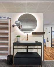 sanikal eppan - Google Suche Bath Showroom, Entryway Tables, Mirror, Google, Furniture, Home Decor, Searching, Decoration Home, Room Decor