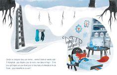 lili la baleine Illustration, Comme, Whale, Winter, Home, Illustrations