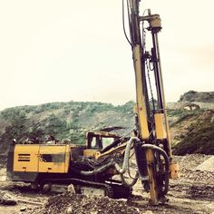 Drilling before blasting.. Atlas Copco Mainteined by NGH doo (Import-Export Ltd.) .. LIKE our FB page ...
