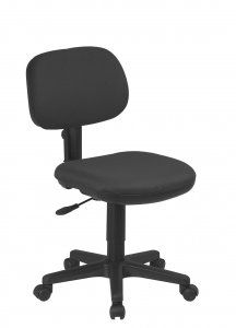 Basic Task Chair (Replaces SC50T). Sculptured Seat and Back. One Touch Pneumatic Seat Height Adjustment. Back Height Adjustment. Seat Depth Adjustment. Heavy Duty Nylon Base with Dual Wheel Carpet Casters. Availability: 1 Color(s) Available. Pricing: $69.99. For more visit: http://sd-office.com/i-7791486-basic-task-chair.html