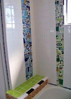 Galleria foto - Rivestimento in mosaico per il bagno Foto 20