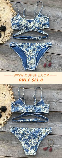 This summer is gonna be so lit! Faster Time! High quality & Better service! Dream away, darling! You'll need to come up with some new ones once you get this floral printing swimwear! It will fulfill all your old dreams of looking adorable! Shop Now!