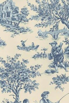 Colonial America in Toile
