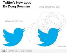 Twitter's new logo
