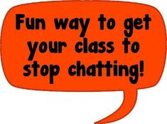 a fun way to get your kids to stop chatting.... check out the link for a cute video and little tricks on how to use it for classroom management! pin now read later