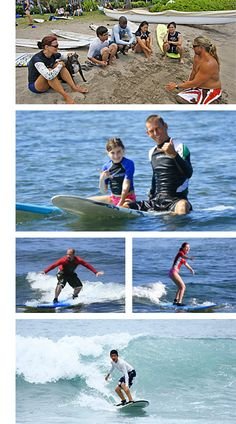 Maui Surf Lessons by Nancy Emerson