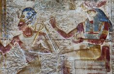 [Egypt 'Second Hypostyle Hall of Seti I Temple at Abydos. Mystery Plays, Places In Egypt, Ancient Egypt Art, Visit Egypt, Black History Facts, Egyptian Art, Temples, Prints, Festivals