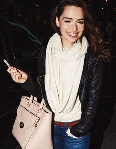 Emilia Clarke Street Style