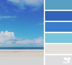 Mental Vacation via @designseeds  #seedscolor #color #colorpalette #color #palette #pallet #colour #colourpalette #design #seeds #designseeds