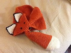 Fox Scarf!!! @Alaina Marie Young  http://sticksandstoneslibrary.blogspot.com/2012/11/the-fox-scarf.html  ^English pattern