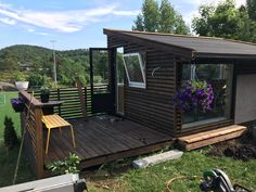 Nytt drivhus Deck, Gardening, Patio, Outdoor Decor, Home Decor, Homemade Home Decor, Yard, Decoration Home, Room Decor