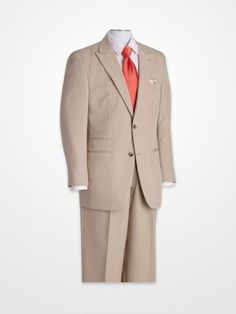 Men's Suits - Steve Harvey Tan Suit - K Fashion Superstore Big Man Suits, Cool Suits, Mens Suits, Fashion Line, Mens Fashion, Steve Harvey, Big Men, Gentleman Style, Dress Codes