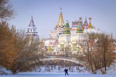 """""""Kremlin in Izmailovo"""" - a cultural and entertainment complex located in Moscow, Russia"""