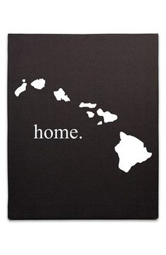 CATHY'S CONCEPTS 'Home State' Canvas Wall Art available at #Nordstrom