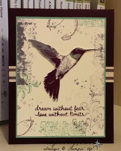 Windy's Wonderful Creations, Stampin' Up!, Picture Perfect, Timeless Textures