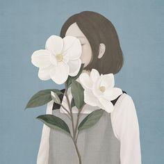 I ritratti floreali di Choi Mi kyung   PICAME