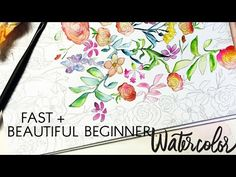 Beginner Watercolor Painting Tips for Beautiful, Quick Results - YouTube