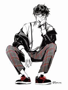 Persona Five, Persona 5 Joker, Kaneki, Adam Jackson, Ren Amamiya, Best Rpg, Akira Kurusu, Identity Art, Handsome Anime