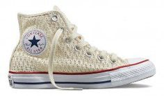 Converse Chuck Taylor All Star Womens Hi Top Parchment/Parchment/White