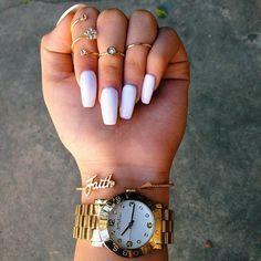 long acrylic nails tumblr - Google Search