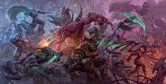 The top 25 semi-finalists in the Heroes of the Storm Ultimate Fan Art contest have been revealed! Feast your eyes on all of these brawl-tastic en. Heroes Of The Storm, Dota 2 Heroes, Game Art, Wow Battle, Blood Elf, Art Competitions, Cg Art, Illustration, Starcraft