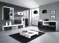 Living Room  Modern Living Room Sets With Black Carpet And White Table And  Tv And Black Lamp And Window  cool modern living room setsContemporary TV Wall Units Australia   TV Cabinet   Pinterest  . Living Rooms Modern. Home Design Ideas